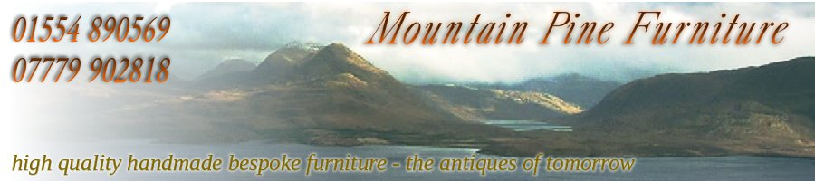 mountain pine handmade furniture